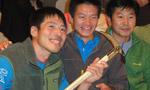 Piolet d'or Asia won by Okada and Katsutake. Hasegawa wins lifetime achievement award.