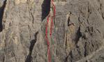 Dolomites new route: Gente di Mare, Lastoni di Formin