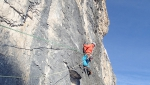 Stella Cadente nuova via sul Piz da Lech, Dolomiti