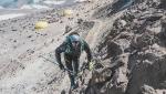 Martin Zhor completa la sua corsa record sull'Aconcagua