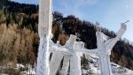 Aperta a Corvara - Rabenstein in Val Passerai la torre di ghiaccio
