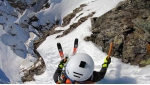 Paul Bonhomme scores steep ski descent down Punta Patrì in Gran Paradiso massif