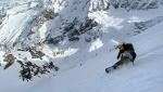 Punta Patrì Sud, new ski descent by Davide Capozzi, Alessandro Letey, Mike Arnold