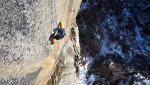 Matteo Della Bordella repeats Itaca nel Sole in Valle dell'Orco, Italy