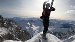 Denis Trento e le discese in zona Jorasses del Monte Bianco