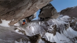 Cerro Cachet NE Face first ascent in Patagonia by Lukas Hinterberger, Nicolas Hojac, Stephan Siegrist
