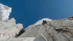 Nicolas Favresse, Sean Villanueva climb new route on Cerro Standhardt in Patagonia