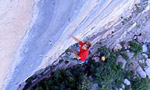 Chris Sharma, the energy of Biographie at Ceuse