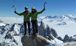 Patagonia, Holzknecht and Moroder climb Fitz Roy and Cerro Torre