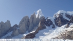 Cerro Torre's immense rime ice mushroom avalanche