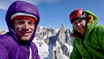 Luka Lindič & Luka Krajnc add new route to Aguja Saint-Exupéry in Patagonia