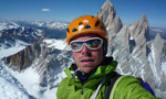 Colin Haley, first solo of Cerro Standhardt and Exocet in Patagonia