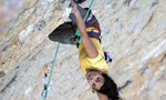 Hard female climbs at Oliana, Margalef and Santa Linya in Spain