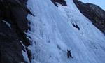 Cascate di ghiaccio nel Tirolo, Austria