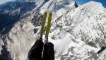 Ortler & Königspitze paralpinism linkup by Aaron Durogati, Bruno Mottini