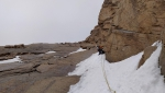 New route on Mt Trud in Kazakhstan by Kirill Belotserkovskiy and Grisha Chsukin