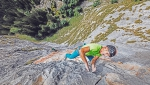 New climb up Cima Cee in Brenta Dolomites by Rolando Larcher, Luca Giupponi