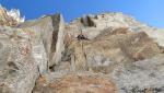 Becca di Montandaynè in Valnontey, liberata la Via delle Guide di Cogne alla parete Sud