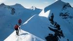 Watch Nicolas Hojac, Adrian Zurbrügg speed across the Monte Rosa Traverse