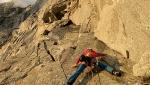 Grandes Jorasses parete nord: Federica Mingolla e Leo Gheza ripetono la via Manitua