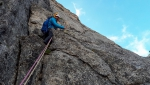 Val Masino: sul Pizzo Torrone la nuova via di Tommaso Lamantia e Manuele Panzeri