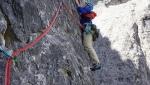 Osttiroler Marende, nuova via sul Col di Mezzo in Val Rienza, Dolomiti