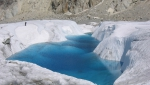 Video: retreating Mer de Glace, Mont Blanc's largest glacier