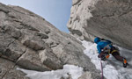 Jardines Japoneses, new route on Aguja Mermoz, Patagonia