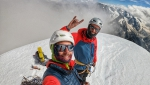 Symon Welfringer completes spicy month in Mont Blanc massif
