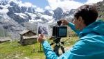 In Valle D'Aosta ripetuti gli scatti di Vittorio Sella dalla Valnontey e dal Breithorn