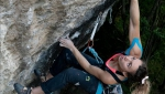 Gravere defies gravity: Claudia Ghisolfi, Giorgio Tomatis send L'extremacura plus 8c+