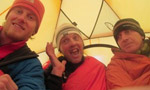 Gasherbrum II, historic first winter ascent: summit for Moro, Urubko and Richards!