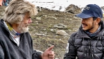 Reinhold Messner and Nirmal Purja meeting for Sports Festival in Italy