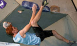 Bouldering World Cup 2007, Fiera di Primiero won by Sharafutdinov and Gros