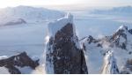 Vista aerea del Cerro Torre in Patagonia