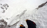 Pizzo della Pieve, first winter solo by Ivo Ferrari