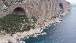 Titanium climbing bolts appeal by Maurizio Oviglia for Sardinia's seaside crags