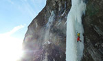 New ice climbs in Austria's Floitental by Leichtfried, Purner & Co