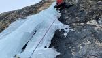 Space Shuttle on Kleine Rodelheilspitze, new mixed climb in the Dolomites
