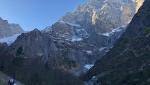 Watzmann parete est salita in inverno da Max Buck e Lando Peters