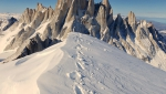 Sean Villanueva con una grande salita completa in solitaria la Traversata del Fitz Roy in Patagonia