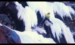 Ice climbing and dry tooling in the Val di Fassa, Dolomites