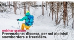 Scialpinismo, snowboard e freeride: la discesa nel Webinar Prevenzione e Sicurezza in montagna