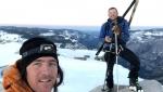 Half Dome, Yosemite, discesa con gli sci di Zach Milligan e Jason Torlano