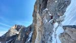 Cimon della Pala, Dolomites: Emanuele Andreozzi, Matteo Faletti establish Elements of Life