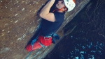 Tom Pearce (15) repeats Divine Moments of Truth, difficult trad climb in England