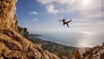 Rock climbing at Sperlonga featured in Petzl Legend Tour Italy