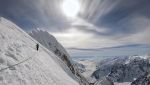 Ines Papert, Luka Lindič climb new route up Mt. Huntington in Alaska