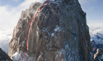 Washington Route, new climb on Fitz Roy, Patagonia by Schaefer and Rutherford