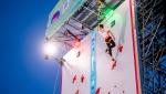 Veddriq Leonardo sets new world record in Salt Lake City Speed World Cup